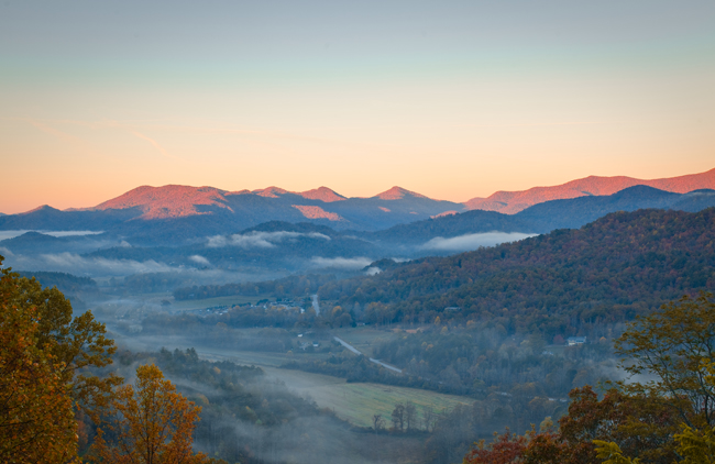 Every season is the best time to visit the southern Appalachian Mountains. all photos courtesy Georgia Tourism